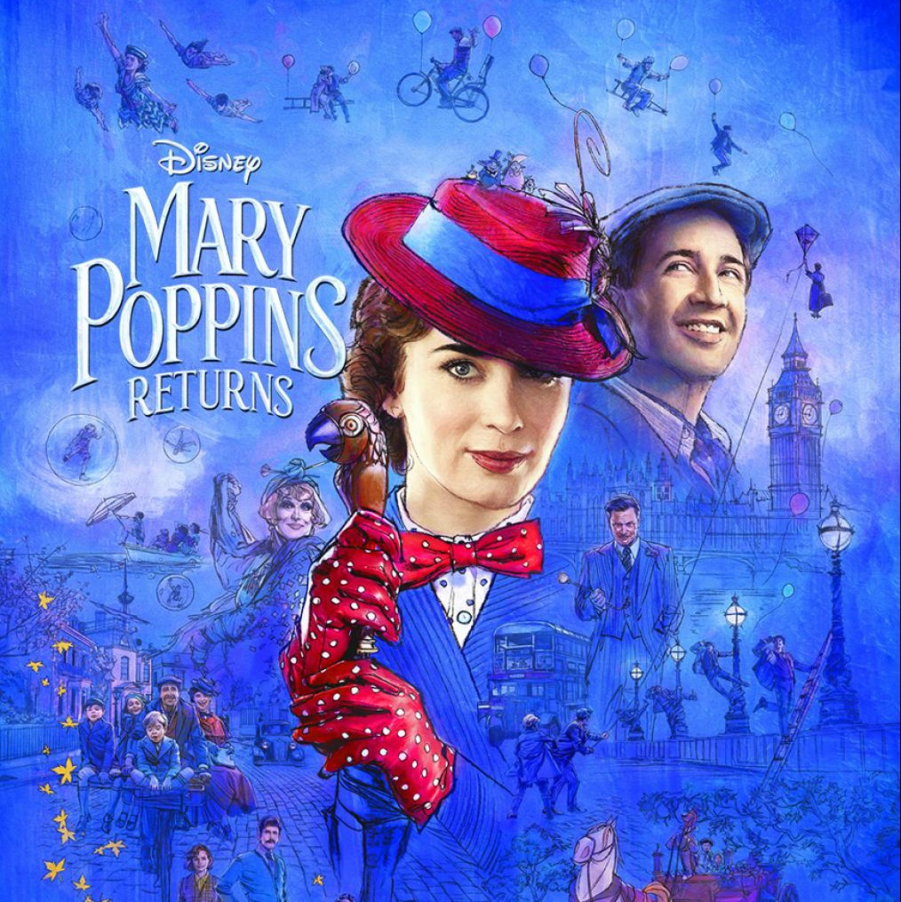 MARY POPPINS RETURNS - New Trailer & Poster Now Available