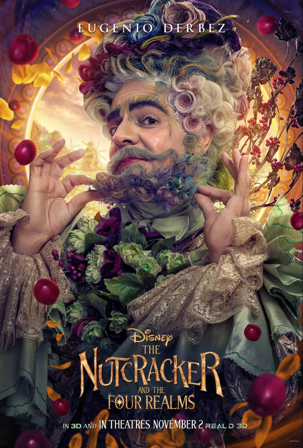 THE NUTCRACKER AND THE FOUR REALMS - Character Posters Now Available