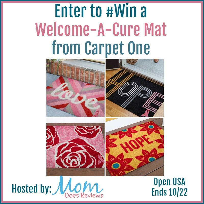 Welcome-A-Cure Mat Giveaway