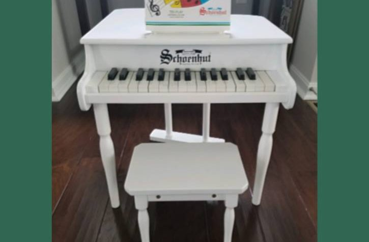 Baby Grand Piano Giveaway