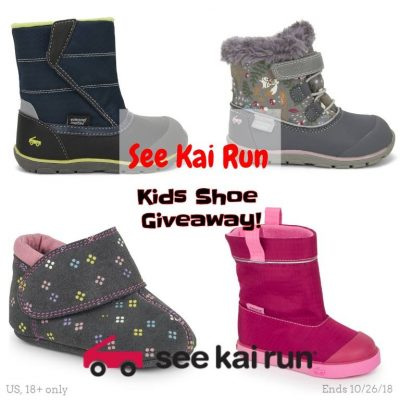 See Kai Run Kids Shoe Giveaway