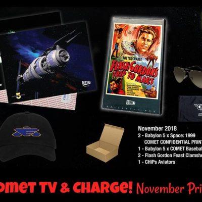 Comet TV November Prize Pack Giveaway