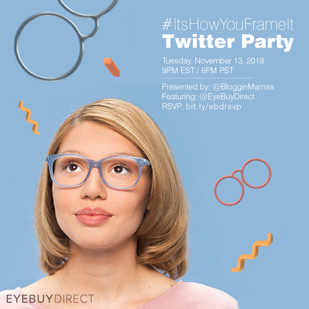 #ItsHowYouFrameIt Twitter Party