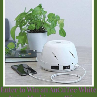 TAuCuTee White Noise Machine Giveaway