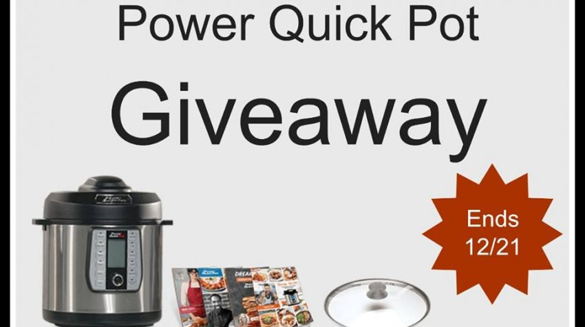 6 Quart Power Quick Pot Giveaway