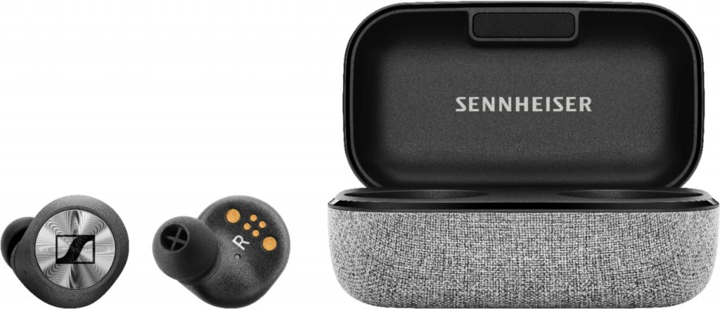Quality Sound from Sennheiser MOMENTUM True Wireless Earbud Headphones
