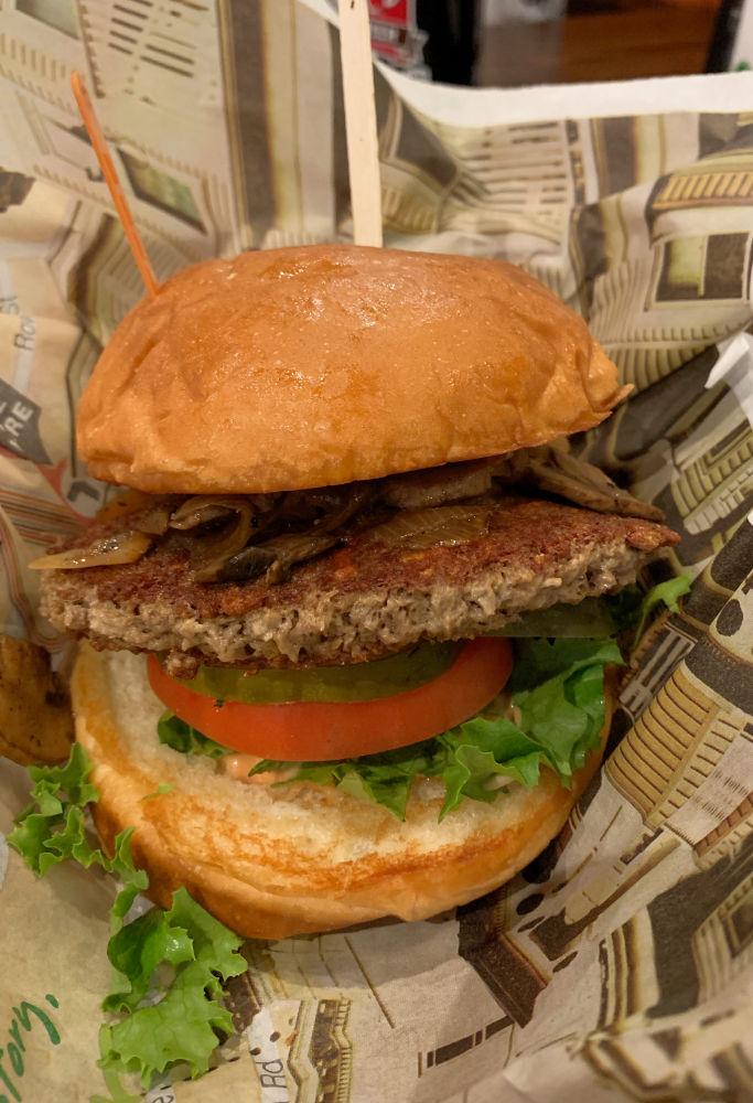 Impossible Burger at Wahlburgers