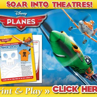 Planes Print & Play