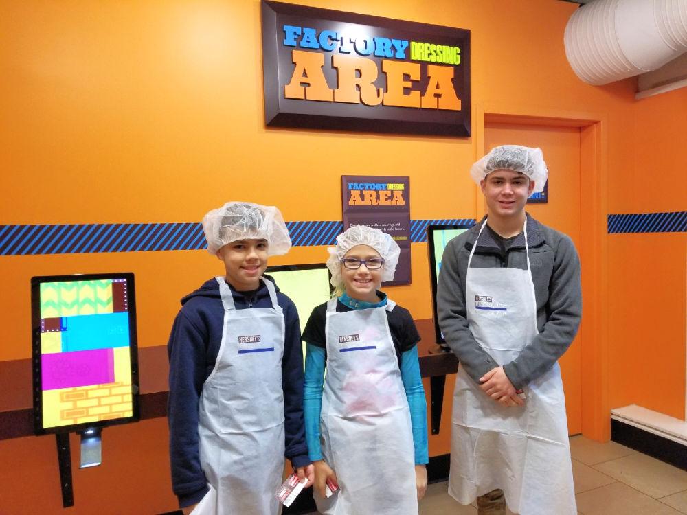 Tour the Hershey Factory at Hershey's Chocolate World