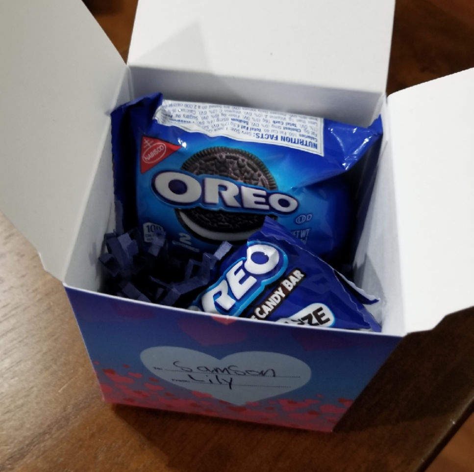 Celebrate this Valentine's Day with OREO