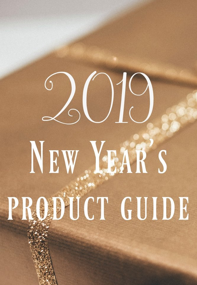 New Years 2019 Product Guide