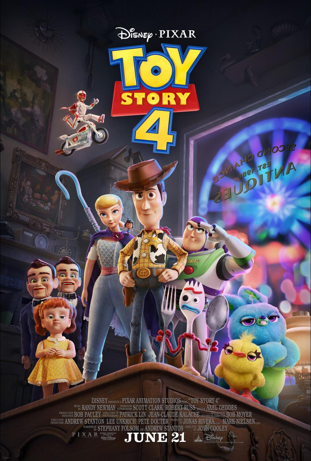 """Meet New """"TOY STORY 4"""" Characters plus the NEW Trailer and Poster!"""