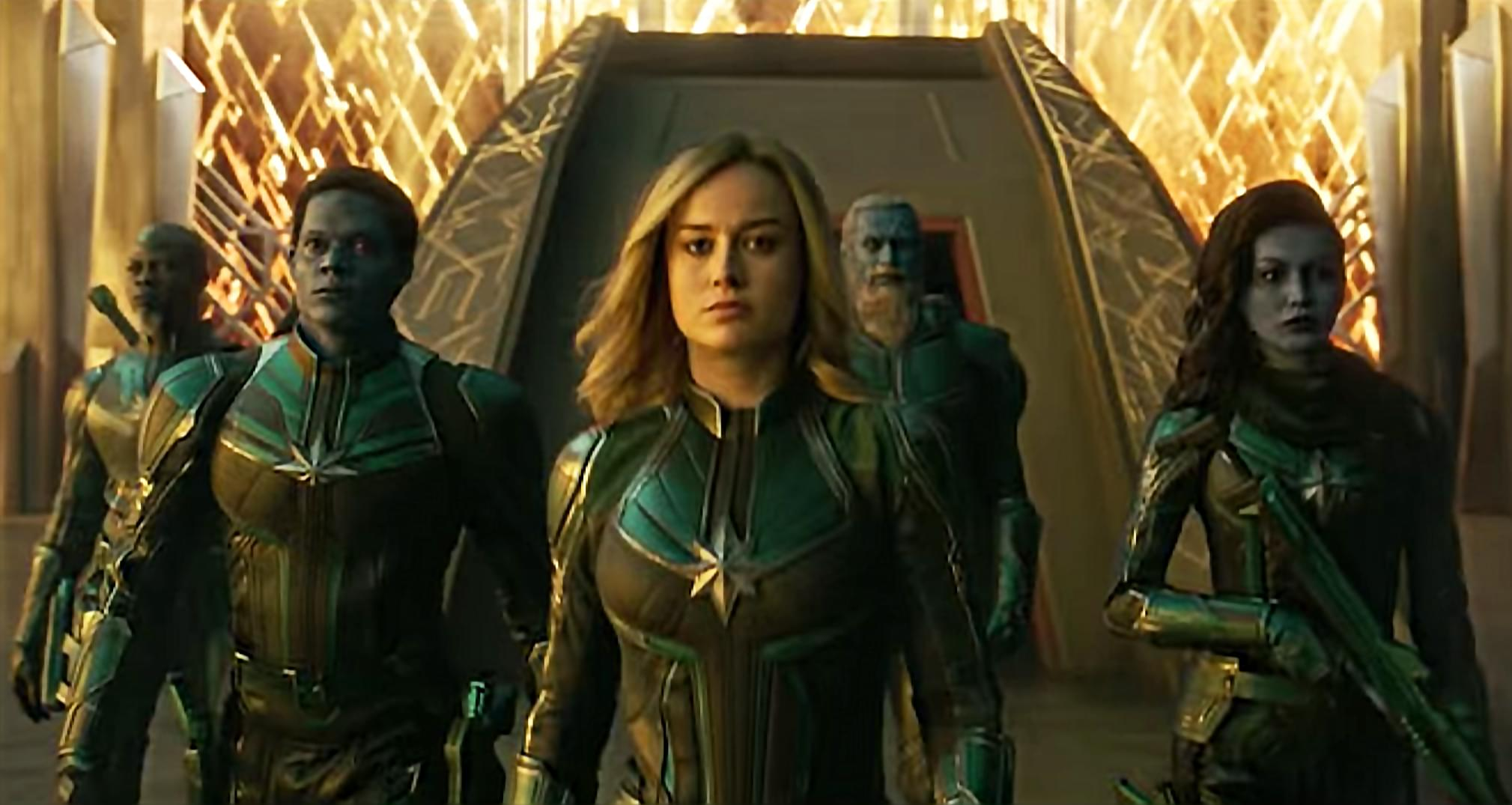 Captain Marvel on Blu Ray Today
