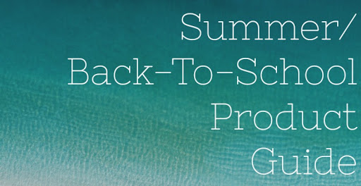 2019 Summer/Back-to-School Product Guide