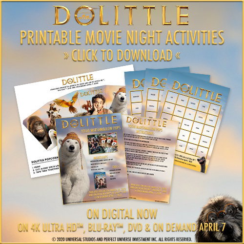 Dolittle Activity Sheets and More