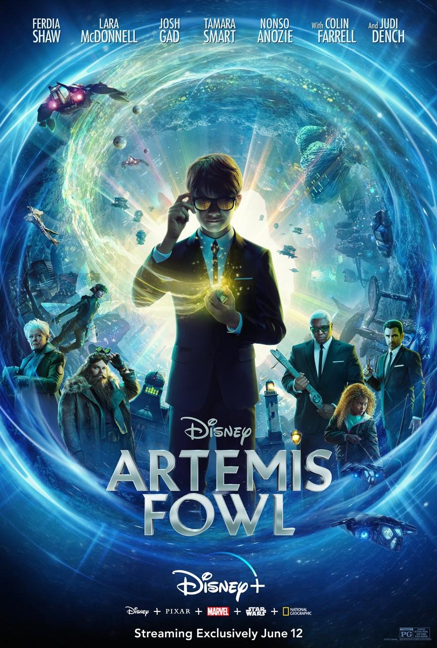 Artemis Fowl Streaming on Disney+ June 12