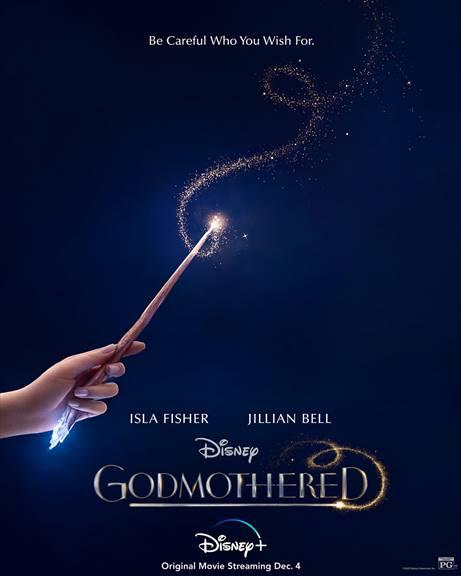 Godmothered on Disney+ December 4th