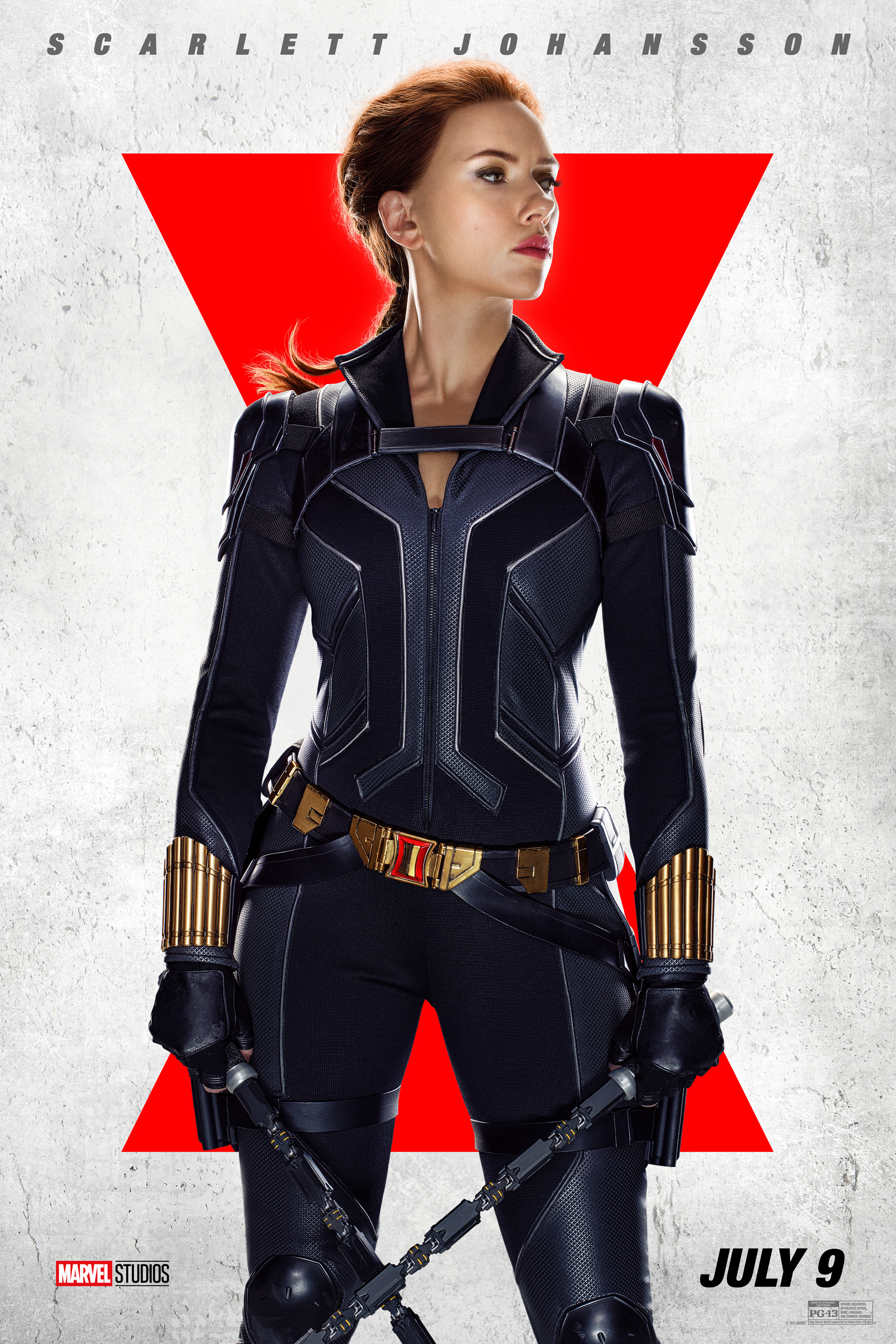 """Marvel Studios' """"Black Widow""""—New Character Posters Available Now"""