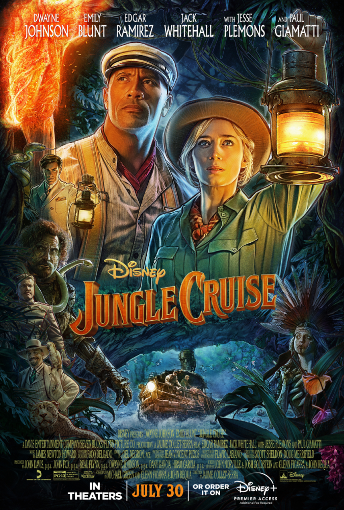 """NEW TRAILER & POSTER FOR DISNEY'S """"JUNGLE CRUISE"""" NOW AVAILABLE"""