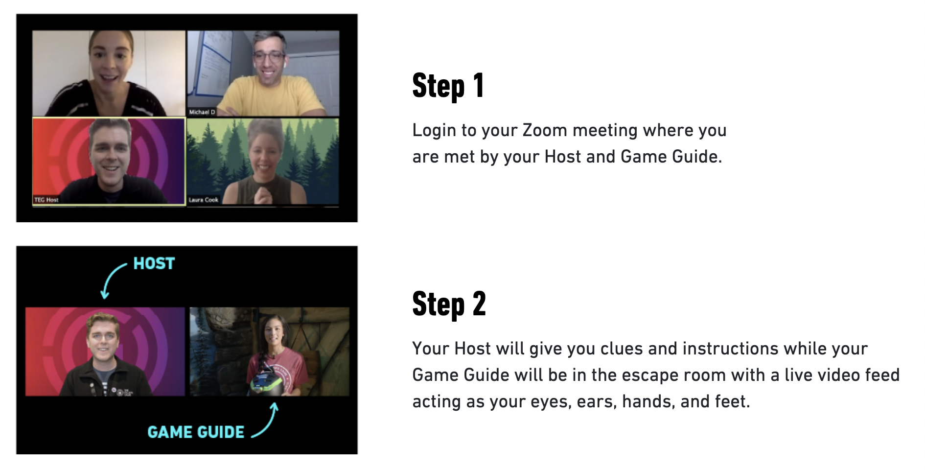 New Adventures in a Virtual Escape Room