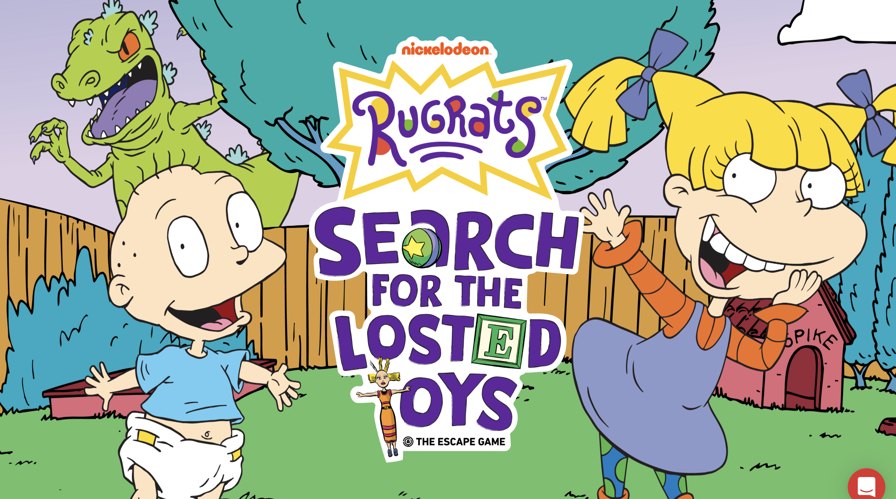 Rugrats 30th Anniversary Escape Room from Nickelodeon and The Escape Game